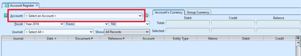 Account Register1