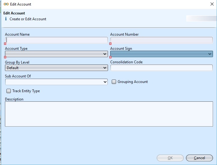 Account Report Mapping create1