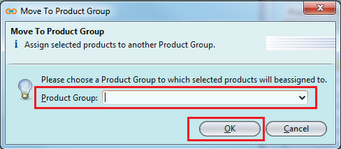 Move Product Group