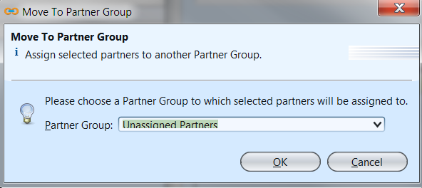 Partner Groups - move to group
