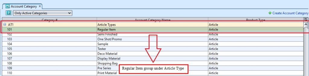 Account Category group3