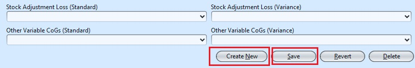 Account Setting create