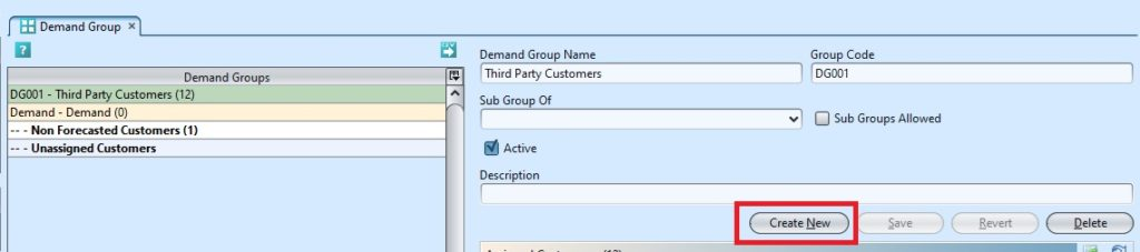Demand Group create