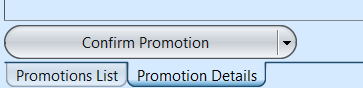 Promo - Confirm button
