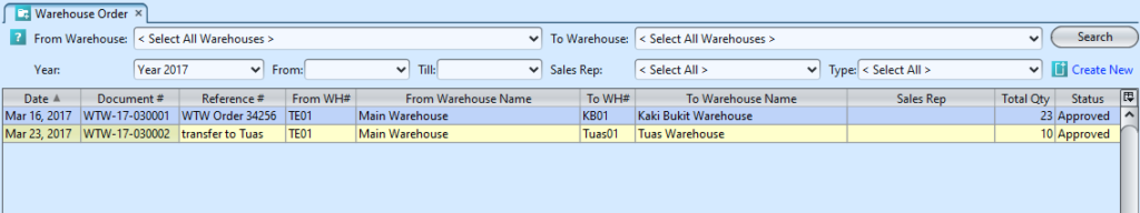 Warehouse Order - Samooha User SupportSamooha User Support