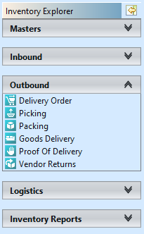 Inventory - Outbound